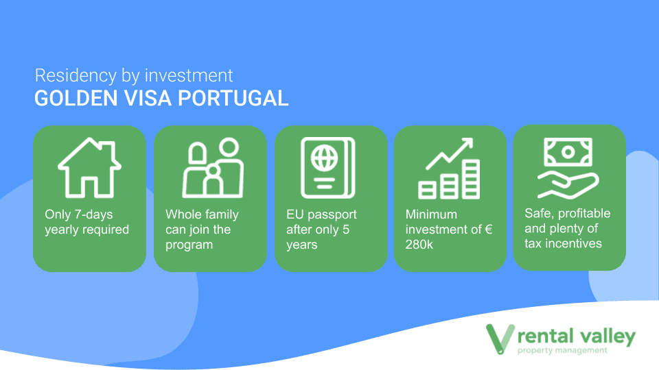 Golden Visa Portugal - Residency by Investment